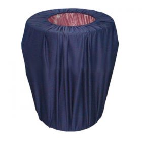 Linen Trash Can Cover
