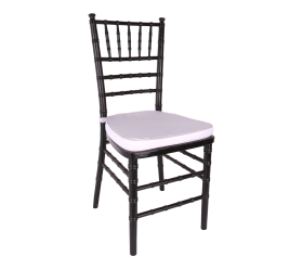 Chair, Black Chiavari with Cushion