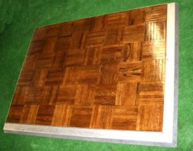 3'x4' Oak Parquet Dance Floor