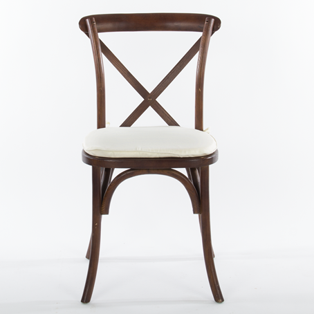 Chair, X-Back Fruitwood