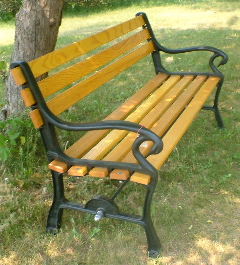 Chair, Park Bench